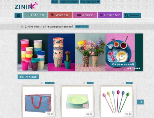 Nieuwe webshop online