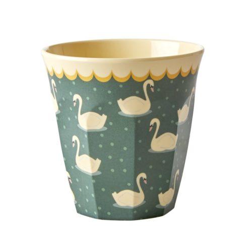 Rice cup M HW18/19 swan khaki