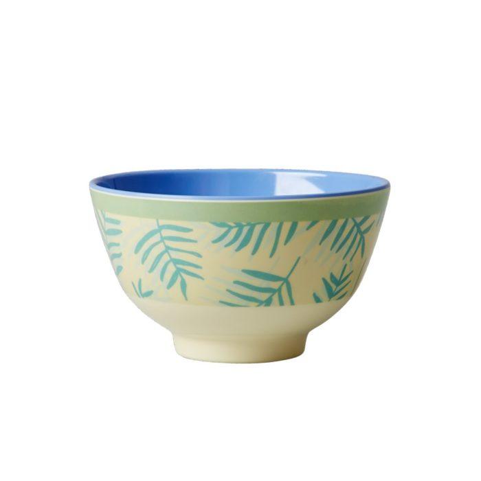 Rice melamine bowl small leav