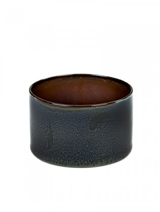 ALG beker cylinder laag darkblue/rust