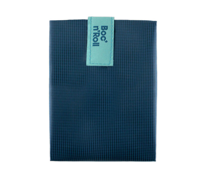 Boc'n'Roll sandwich wrapper Square blue