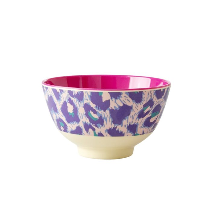 Rice melamine bowl small leo