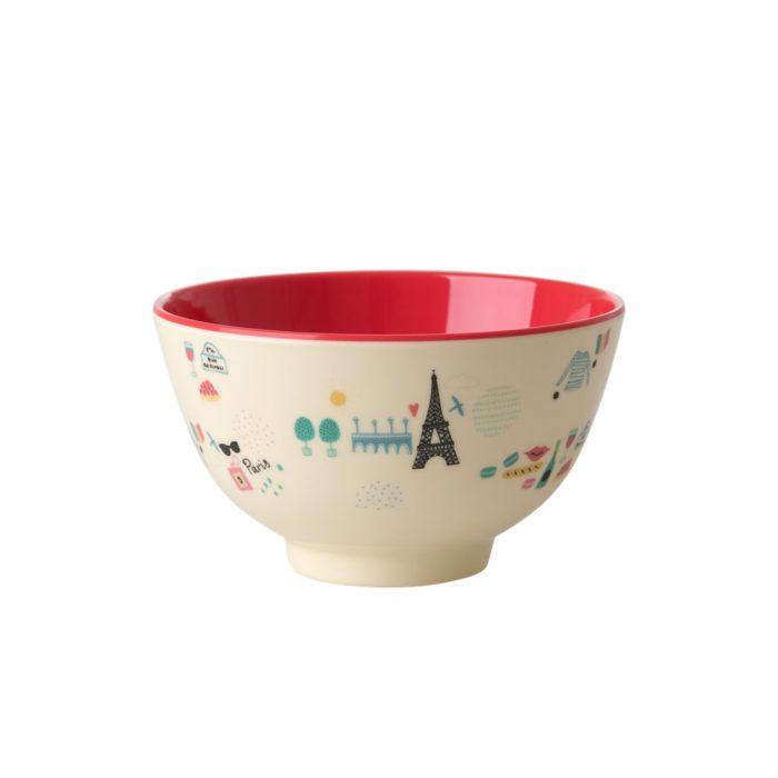 Rice melamine bowl small Paris