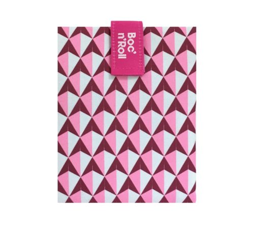 Boc'n'Roll sandwich wrapper Tiles pink