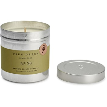 True Grace tin candle Lemon Tree