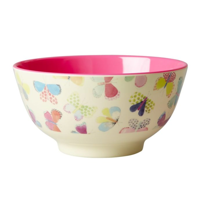 Rice melamine bowl but