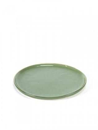 Pascale Naessens bord groen Ø16cm