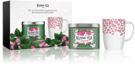 Kusmi Tea Giftbox Spearmint & Rose