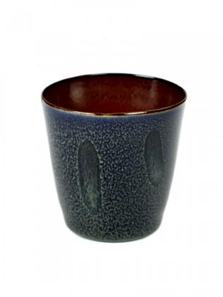 ALG beker consich small darkblue/rust