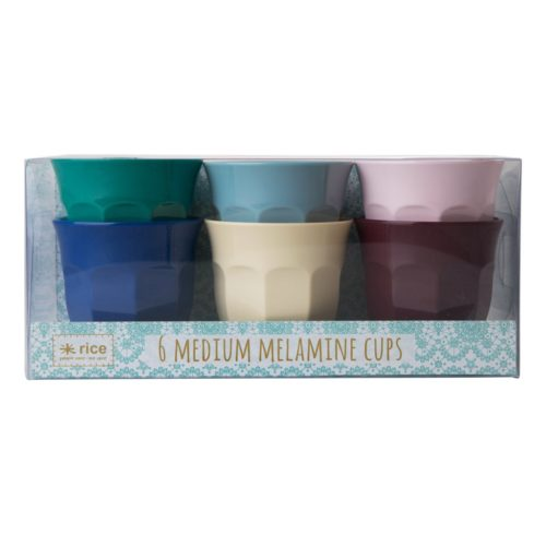 Rice cup set/6 kleuren MURBXC