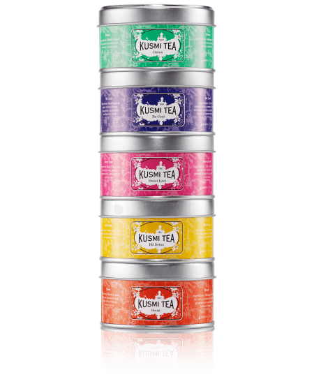 Kusmi Tea Wellness teas 5xblikje
