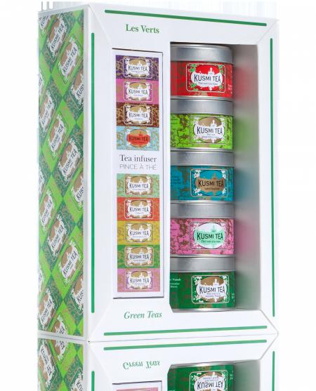 Kusmi Tea Green Teas giftset