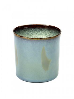 ALG beker cylinder hoog smokey/misty