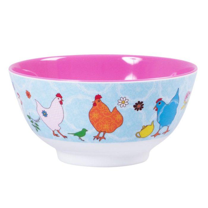 Rice melamine bowl heni
