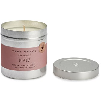 True Grace tin candle Vine Tomato