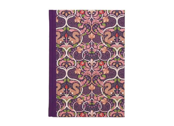 Classie Notebook hardcover Anna / paars