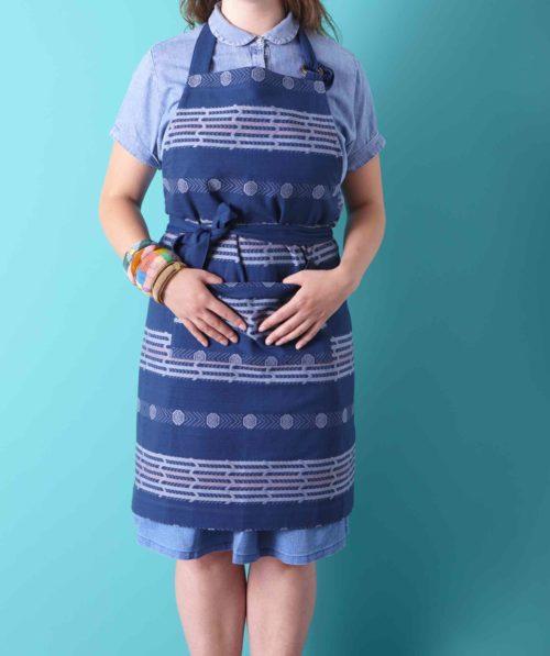 Bindi Schort blauw