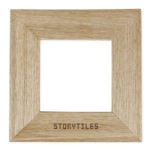 Storytiles lijst eikenhout