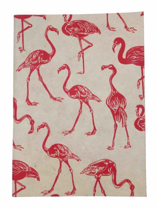 RtS notitieboekje A5 flamingo white/pink