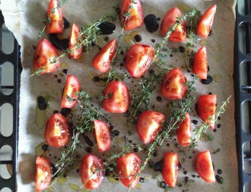 Linzen met tomaten en gorgonzola van Ottolenghi