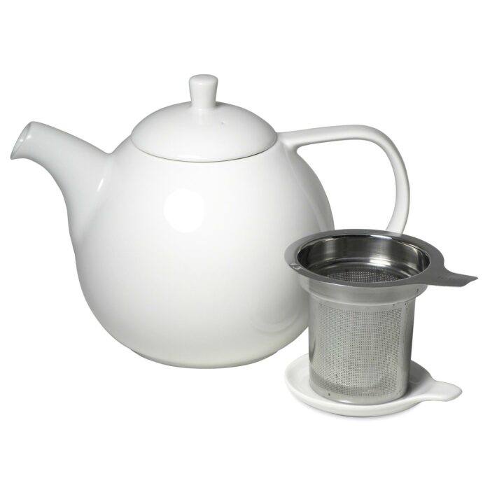 Forlife theepot Curve white 1.3L