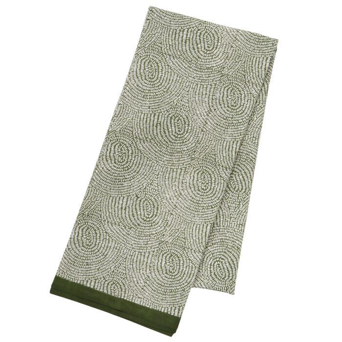 Tafelkleed Zen fern 1.6x3m katoen