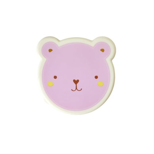 Rice lunchbox set/4 animal roze