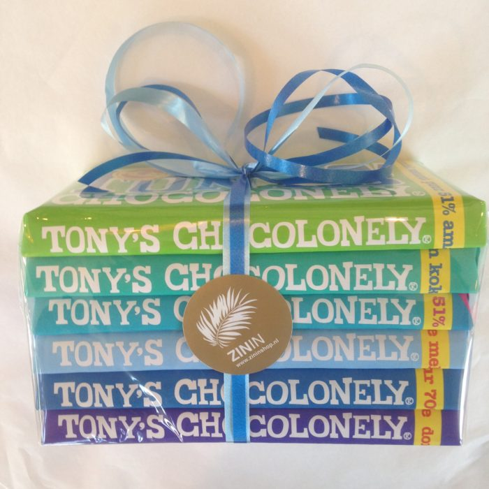 Tony's Giftpack Puur / 5 repen