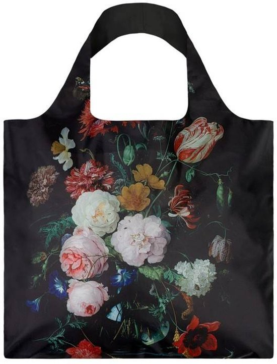Loqi bag museum stillife flowers