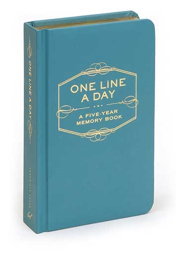 One line a day 5 year memory - chronicle books