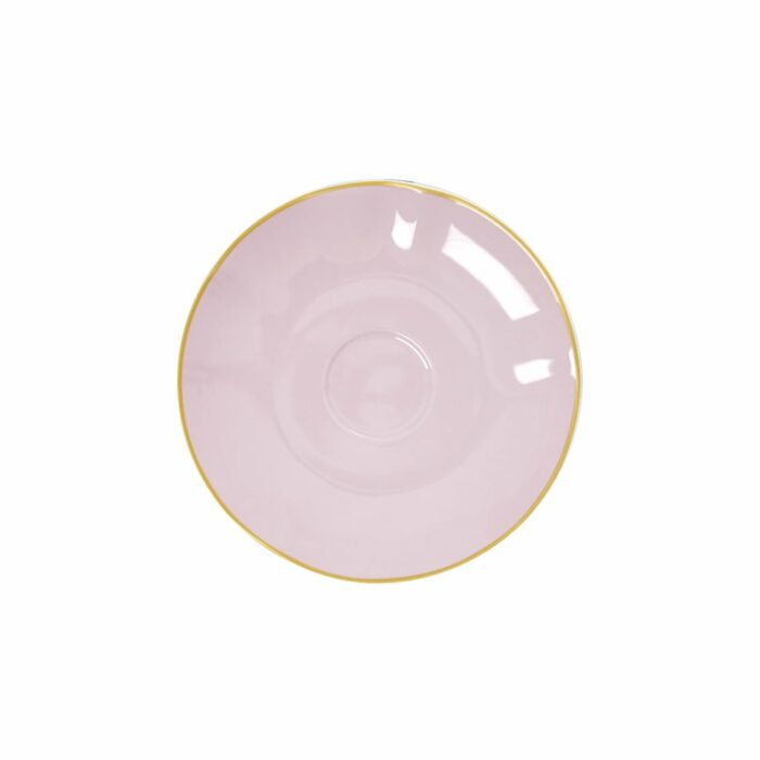 Rice porcelain saucer bubblegum