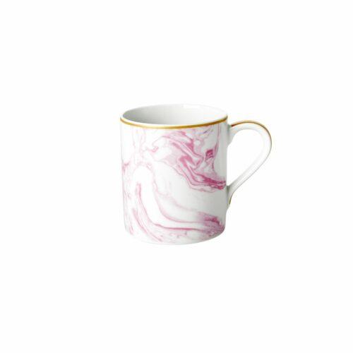 Rice porcelain mug marble print bubblegum 350ml