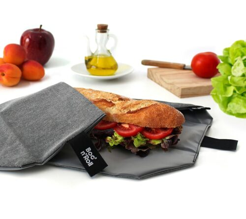 Boc'n'Roll sandwich wrapper Eco black