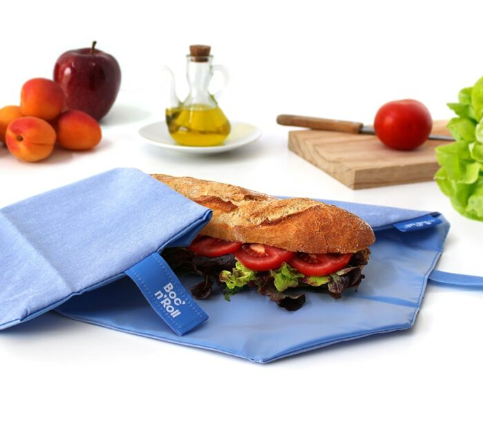 Boc'n'Roll sandwich wrapper Eco blue