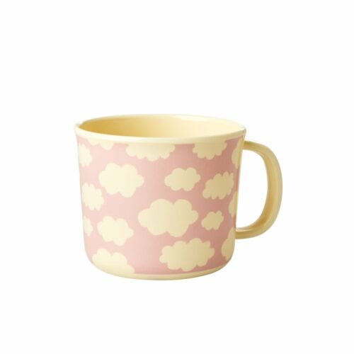 Rice mel. Baby cup cloud pink