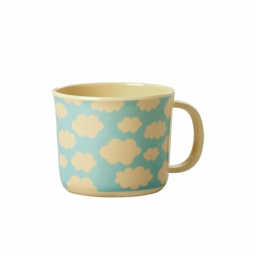Rice mel. Baby cup cloud blue