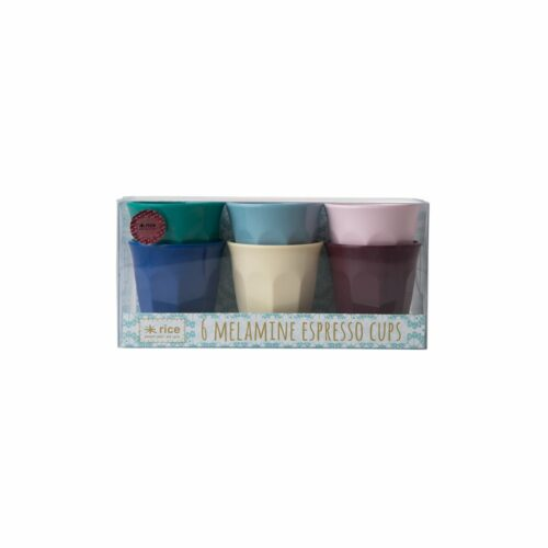 Rice cup set/6 kleuren EURBXC
