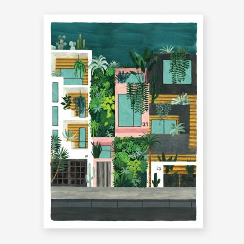 Poster Buildings - All the ways