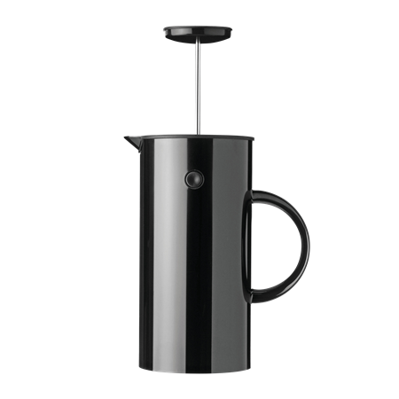 Stelton coffeepress 1l black EM77