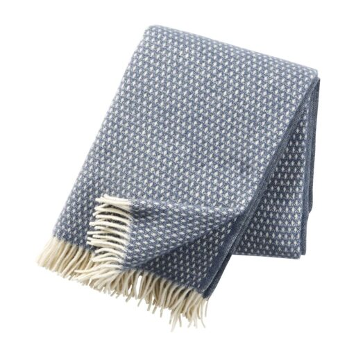 Klippan plaid knut smokeyblue 1.3x1.8m