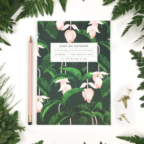 Notebook Medinilla A5 blanco
