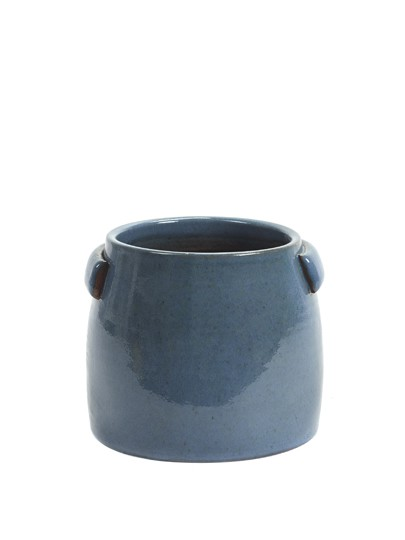 Tabor bloempot S blue 22x19cm