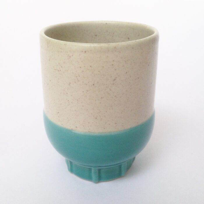 RtS two colour espresso cup turquoise
