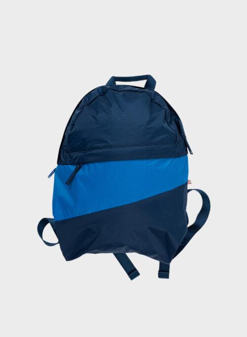 Susan Bijl Foldable backpack M Untitled Midnight&Pool