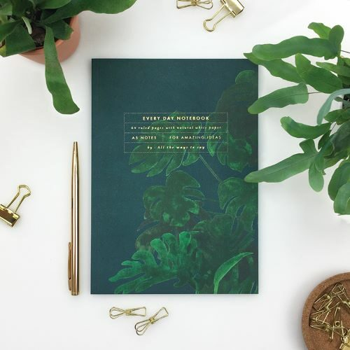 Notebook Monstera A5 dotted