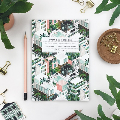 Notebook City A5 dotted