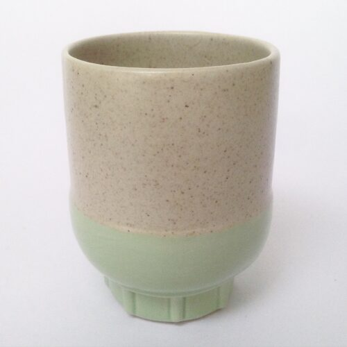 RtS two colour espresso cup mint