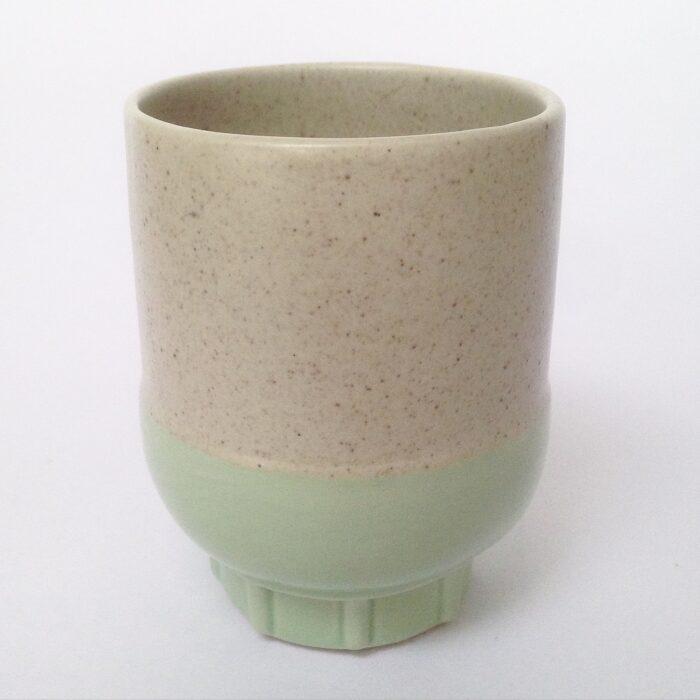 RtS two colour espresso cup mint