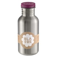 Blafre Steel Bottle 0.5l plum red