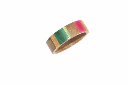 RtS houten armband breed